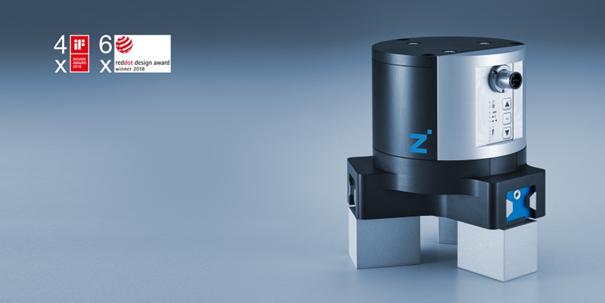 Zimmer 六件获奖产品之一:电动三指定心机械抓手 GED5000